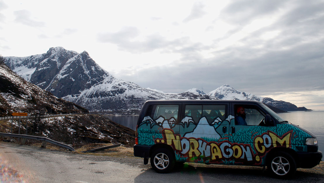 Campervan for the adventurous