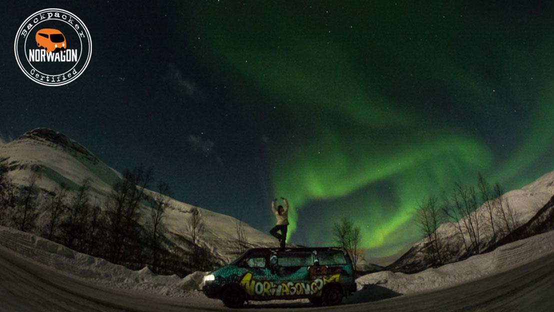 Campervan Northern Lights