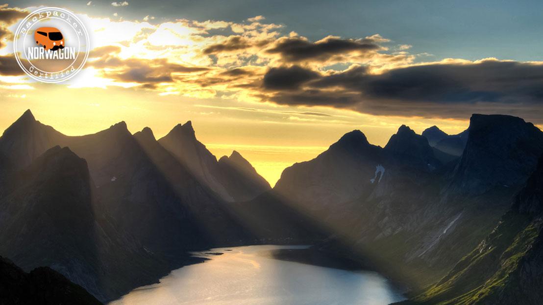 Campervan roadtrip tromso Norway